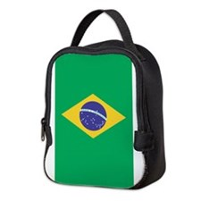 Brazilian Flag Neoprene Lunch Bag