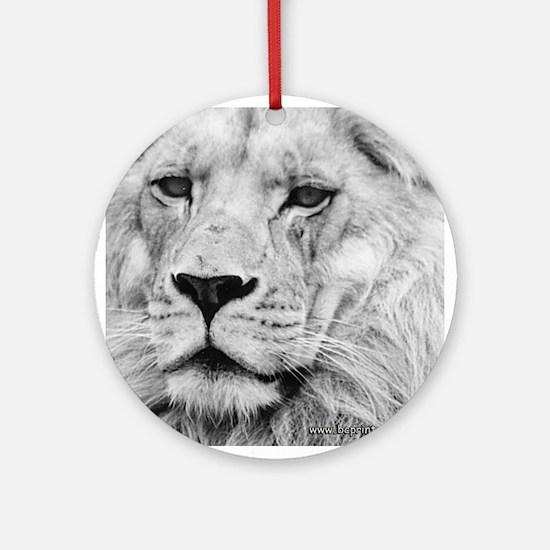 Lion 10 Ornament (Round)