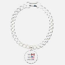 Canadian American Bracelet Bracelet