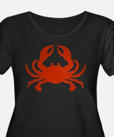 crab_red Plus Size T-Shirt