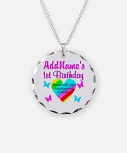 JOYOUS 1 YR OLD Necklace Circle Charm