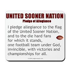 Sooner Nation Pledge Mousepad