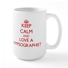 Keep Calm and Love a Hypsographist Mugs