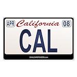 California License Plate Sticker - CAL