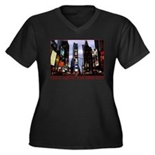 New York Souvenir Times Square Gifts Plus Size T-S