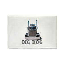 Big Dog Rectangle Magnet