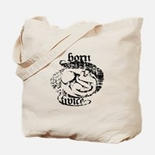 Born Twice Fetal Surgery Tote Bag