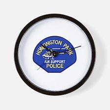 Huntington Park Air Support Wall Clock