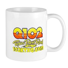 Q102 Texas Best Rock! Mug