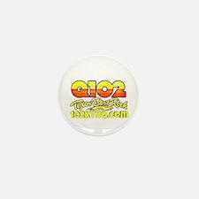 Q102 Texas Best Rock! Mini Button (100 Pack) Mini