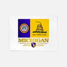 DTOM Michigan 5'x7'Area Rug