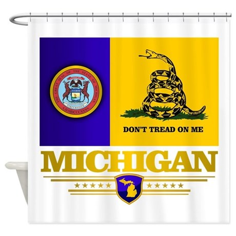 DTOM Michigan Shower Curtain