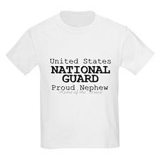 Proud National Guard Nephew T-Shirt