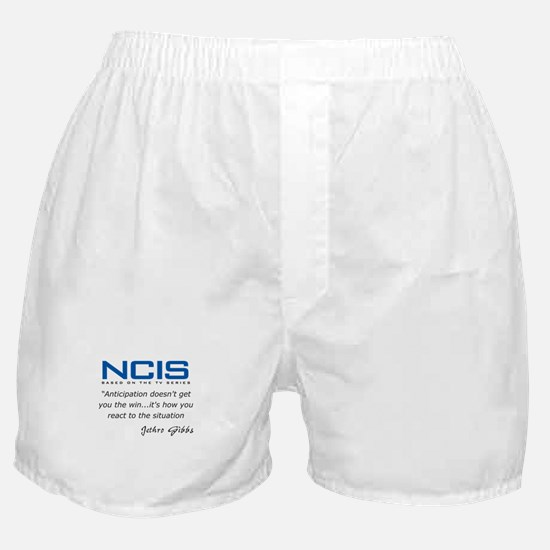 Gibbs Anticipation Quote Boxer Shorts