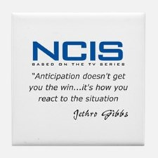 Gibbs Anticipation Quote Tile Coaster