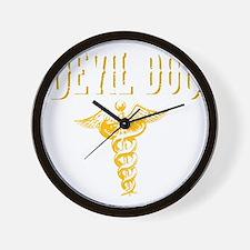 Devil Doc Wall Clock