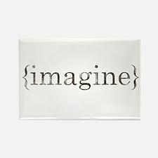 imagine Rectangle Magnet (10 pack)