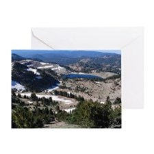 View from Mt. Lassen Greeting Card