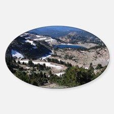 View from Mt. Lassen Decal
