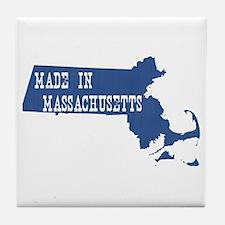 Massachusetts Tile Coaster