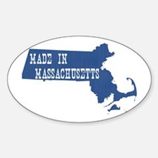 Massachusetts Decal
