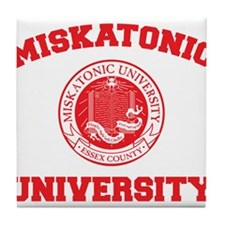 Strk3 Miskatonic University Tile Coaster