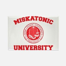 Strk3 Miskatonic University Rectangle Magnet