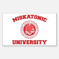 Strk3 Miskatonic University Rectangle Decal