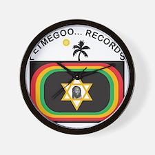 Letmegoo Records Logo Wall Clock