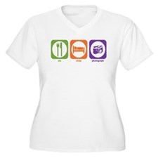 Eat Sleep Photograph T-Shirt