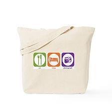 Eat Sleep Photograph Tote Bag