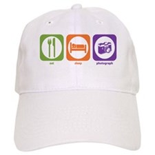Eat Sleep Photograph Baseball Cap