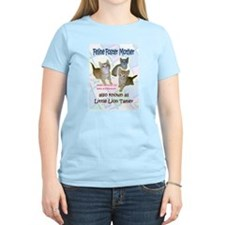 Feline Foster Mom Womens One Sided Light T