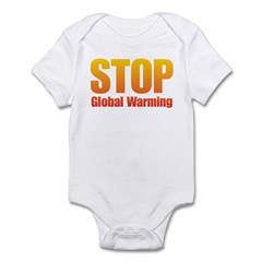 Stop Global Warming! Infant Bodysuit