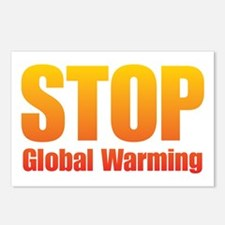 Stop Global Warming! Postcards (Package of 8)