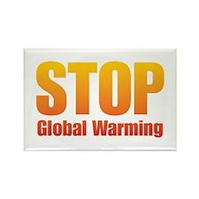 Stop Global Warming! Rectangle Magnet