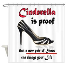 CINDERELLA Shower Curtain