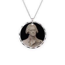 Thomas Jefferson 1776 Necklace