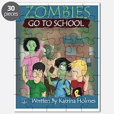 Zombies Go To School Puzzle