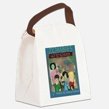 Zombies Go To School Canvas Lunch Bag