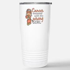 Combat Girl Uterine Can Travel Mug
