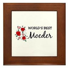 WB Mom [Flemish] Framed Tile