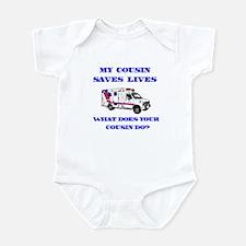 Ambulance Saves Lives-Cousin Infant Bodysuit