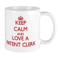Keep Calm and Love a Patent Clerk Mugs
