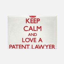 Keep Calm and Love a Patent Lawyer Magnets
