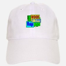 Golf Clubs Design Baseball Baseball Baseball Cap