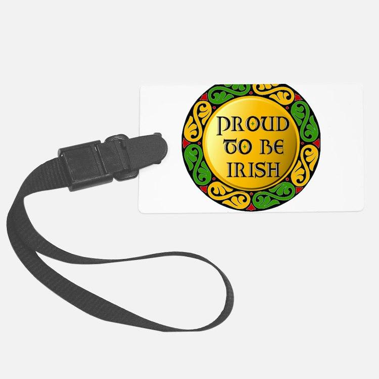 Proud to be Irish Luggage Tag