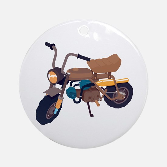 #1 Honda Z50 Ornament (Round)