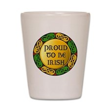 Proud to be Irish Shot Glass