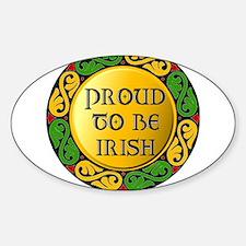 Proud to be Irish Decal
